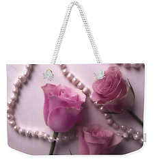 Pearls And Roses 2 Weekender Tote Bag