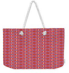 Weekender Tote Bag featuring the painting Pearls by Kym Nicolas