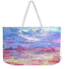 Pearly Sunset Weekender Tote Bag