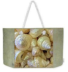 Pearly Troca Shells Weekender Tote Bag