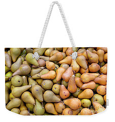 Pears At The Harvest Weekender Tote Bag