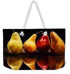 Pearsfect Weekender Tote Bag by Laurie Hein