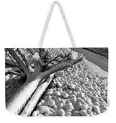 Pebble Beach Winter Weekender Tote Bag