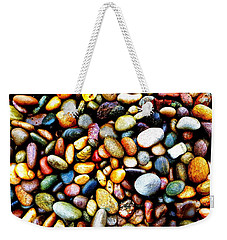 Pebbles On A Beach Weekender Tote Bag