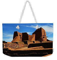 Weekender Tote Bag featuring the photograph Pecos New Mexico by Joseph Frank Baraba
