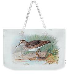 Pectoral Sandpiper Weekender Tote Bag