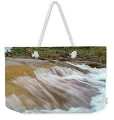 Pedernales Falls Weekender Tote Bag by Tim Fitzharris