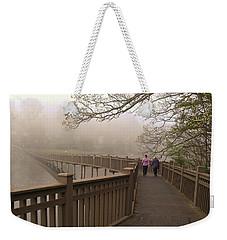 Pedestrian Bridge Early Morning Weekender Tote Bag