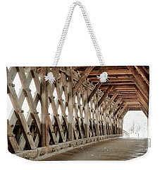 Pedestrian Bridge Guelph Ontario Weekender Tote Bag