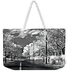 Pedestrian People On The Street Weekender Tote Bag by Odon Czintos