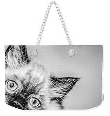 Peek A Boo Weekender Tote Bag