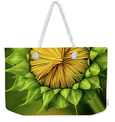 Peek-a-boo Sunflower Weekender Tote Bag