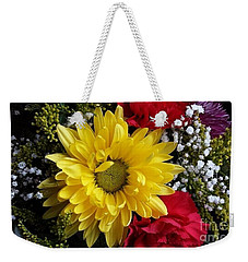 Peek A Boo Sunshine Weekender Tote Bag by Becky Lupe