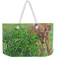 Peek-a- Boo Weekender Tote Bag