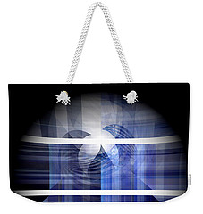 Peek Into Crystal  Weekender Tote Bag by Thibault Toussaint