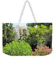 Peek Of The Parthenon Weekender Tote Bag