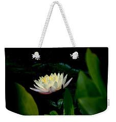 Peekaboo Lemon Water Lily Weekender Tote Bag