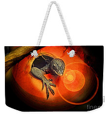 Peeking Out Weekender Tote Bag