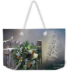 Peeking Through The Garden Gate Weekender Tote Bag