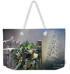 Peeking Through The Garden Gate Weekender Tote Bag by Janette Boyd