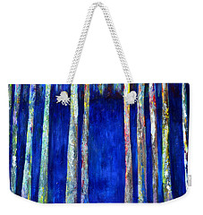 Peeking Through The Trees Weekender Tote Bag by Claire Bull