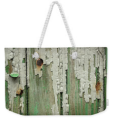 Weekender Tote Bag featuring the photograph Peeling 3 by Mike Eingle