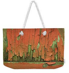 Weekender Tote Bag featuring the photograph Peeling 4 by Mike Eingle