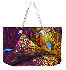 Weekender Tote Bag featuring the photograph Peeling Back Time by Paul Wear