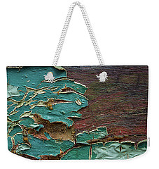 Weekender Tote Bag featuring the photograph Peeling by Mike Eingle