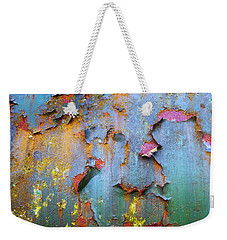 Peeling Paint And Rust Textures 135 Weekender Tote Bag