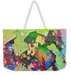 Peeling Paint Colors Weekender Tote Bag by Todd Breitling