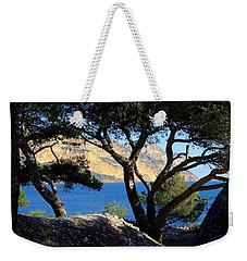 Peeping Through Pines Weekender Tote Bag