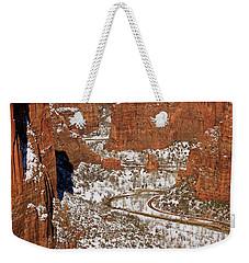 Peering Into The Valley Weekender Tote Bag
