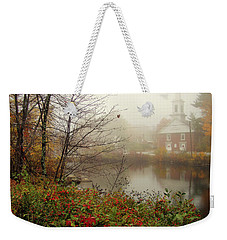 Foggy Glimpse Weekender Tote Bag by Betsy Zimmerli