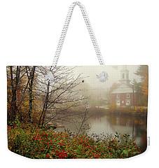 Foggy Glimpse Weekender Tote Bag
