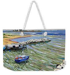 Peerlessly Outbound Weekender Tote Bag