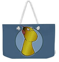 Peg Weekender Tote Bag by Uncle J's Monsters