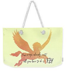 Pegasus Flight Weekender Tote Bag