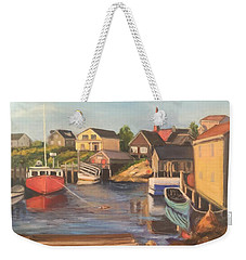 Peggy 's Cove, Halifax Nova Scotia, Canada  Weekender Tote Bag