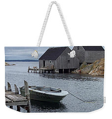 Weekender Tote Bag featuring the photograph Peggys Cove Canada by Richard Bryce and Family