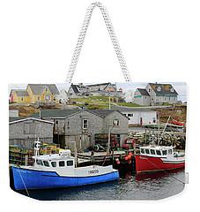Peggy's Cove, Nova Scotia Weekender Tote Bag