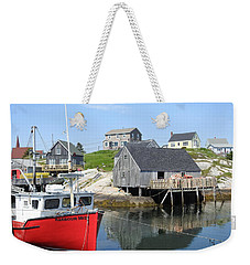 Peggy's Cove, Nova Scotia Weekender Tote Bag
