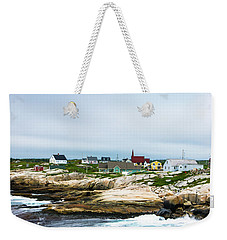Peggy's Cove Shoreline Weekender Tote Bag