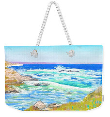 Peggy's Cove Surf  Weekender Tote Bag by Rae  Smith