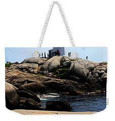 Peggys Light House Relfection  Weekender Tote Bag