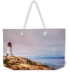 Peggys Point Lighthouse Weekender Tote Bag