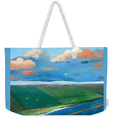 Peggy's Road Weekender Tote Bag by Gary Coleman