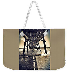 Peir View  Weekender Tote Bag by Christy Ricafrente