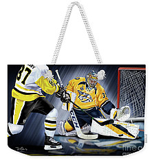 Pekka Rinne Stanley Cup Weekender Tote Bag by Don Olea