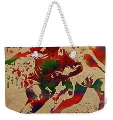Pele Watercolor Portrait Weekender Tote Bag